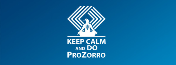 Keep calm and do prozorro